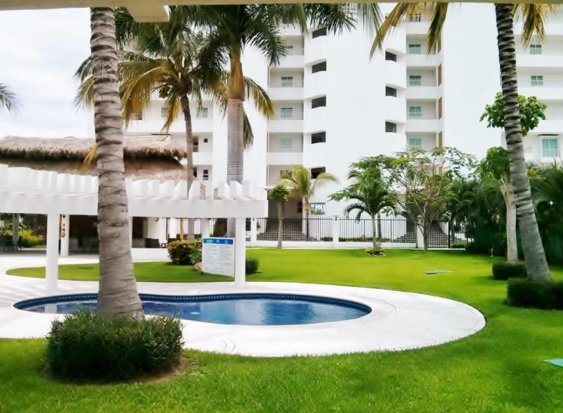 Casa Delfines is a beautiful fully furnished townhouse in the Los Delfines complex in Nuevo Vallarta