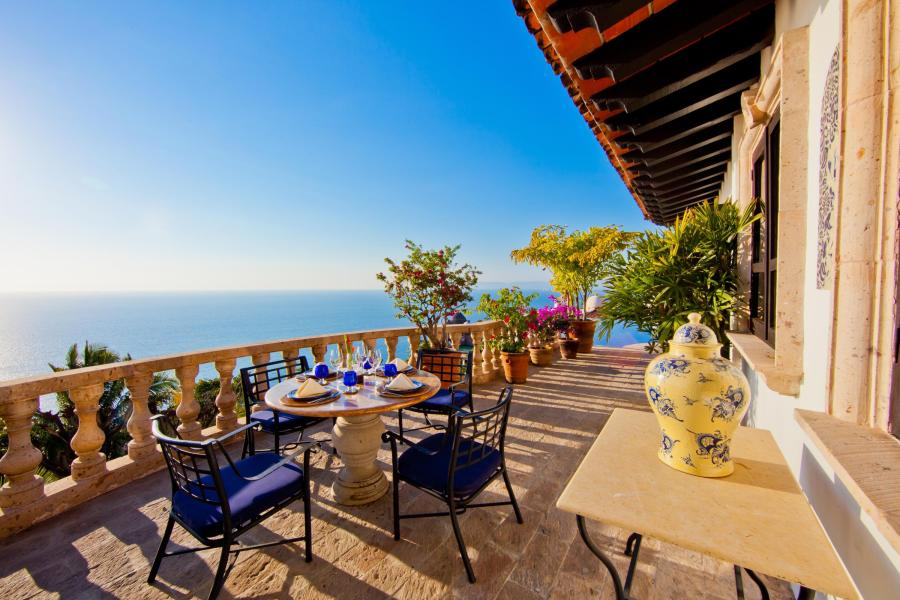 Stunning Mexican character villa located just a few minutes south of downtown Puerto Vallarta, in the prestigious neighborhood of Conchas Chinas