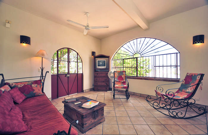 Charming Mexican style Casa Valentina, located steps above the Zona Romantica.